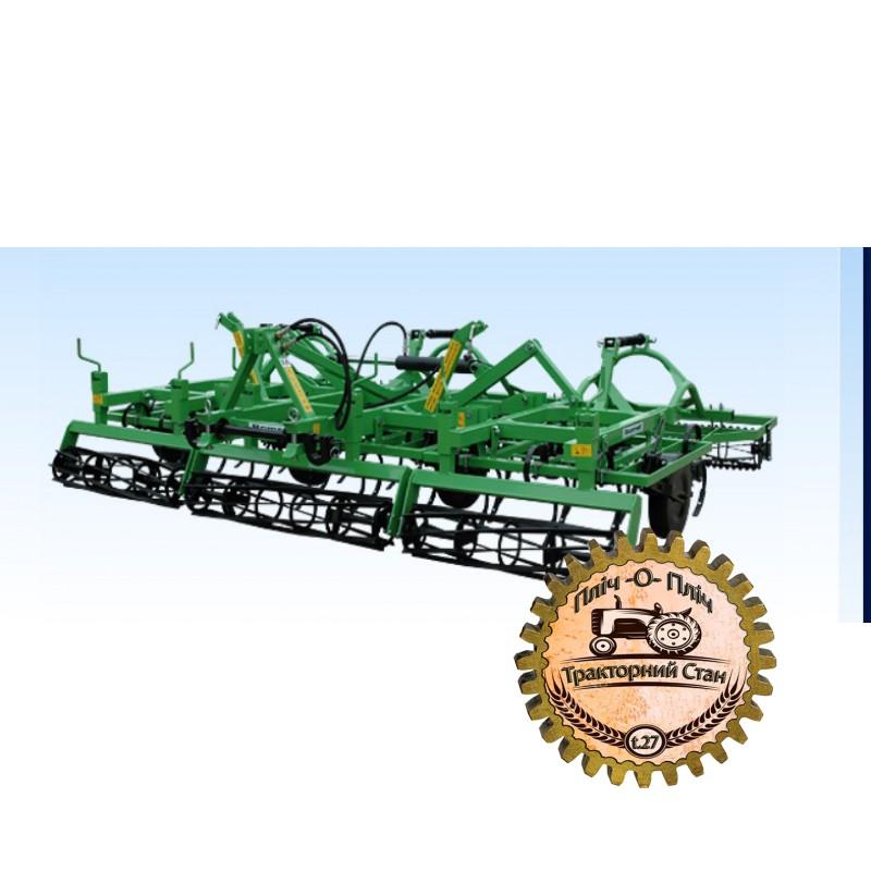 Навесные почвообрабатывающие агрегаты гидравлически складываемые с передним катком Bomet