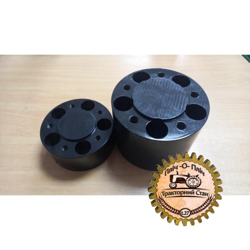 Комплект проставок для увеличения передней и задней колеи мини трактора солис 26