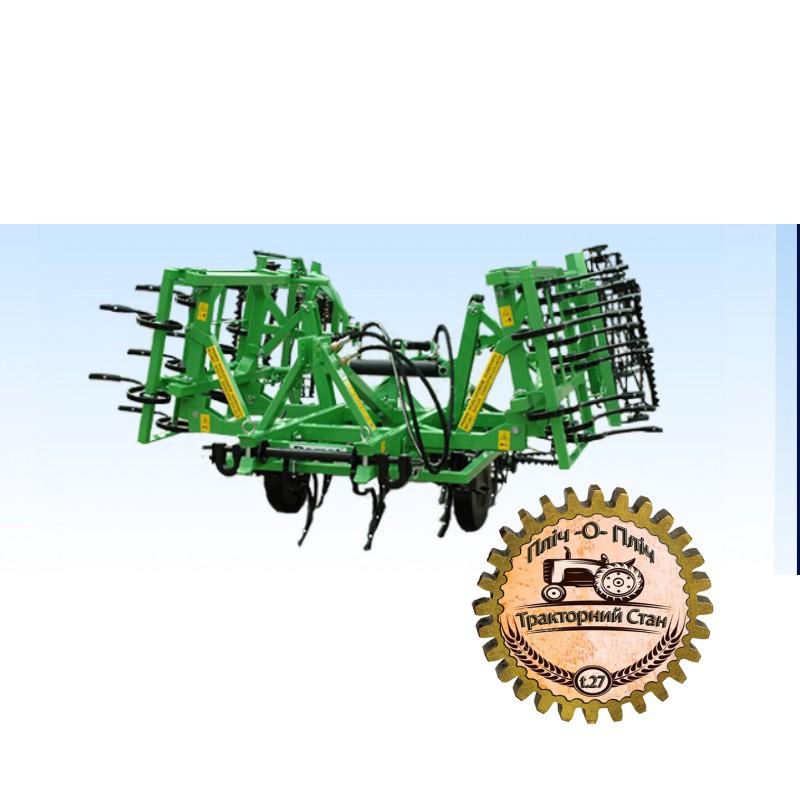 Навесные почвообрабатывающие агрегаты гидравлически складываемые Bomet