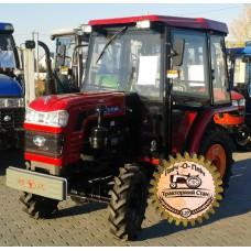 Мини-трактор Shifeng SF-244C (Шифенг SF-244C) ременной с кабиной