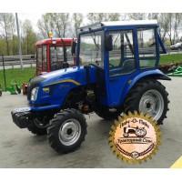 Мини-трактор Dongfeng-354 (Донгфенг-354) 4-х цилиндровый с кабиной, сделанной в Украине