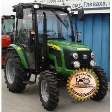 Мини-трактор Zoomlion/Detank RF-404BC (Зумлион/Детанк RF-404BC) с кабиной