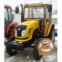 Мини-трактор Dongfeng-404C (Донгфенг-404C) с кабиной желтый