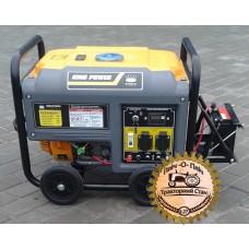 Генератор King Power KP5500EKP-I бензиновый со стартером 3,3 кВт