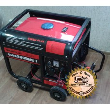 Генератор Swan Plus SW4500EWS-I бензиновый со стартером 2.8 кВт
