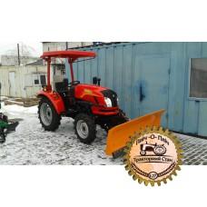 Отвал передний поворотный на мини-трактор Донгфенг-244D