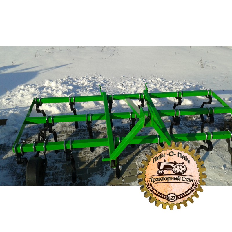 Культиватор пружинный сплошной обработки 2,5 м навесной (Bomet,Польша)